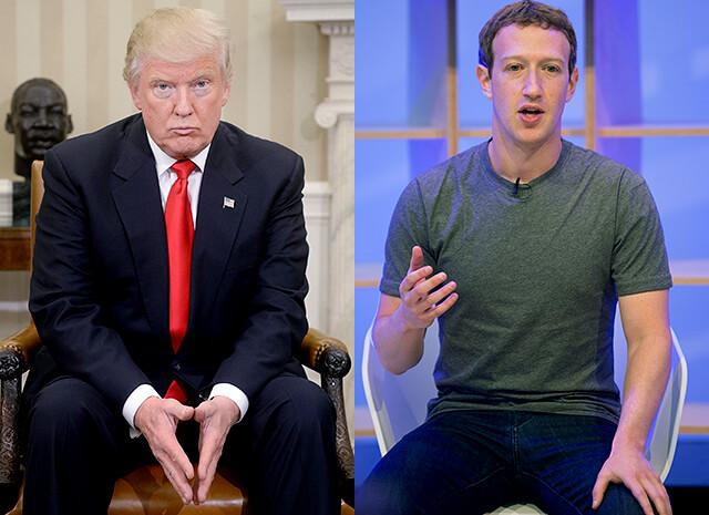 Что объединяет Марка Цукерберга, Дональда Трампа и Джима Керри?